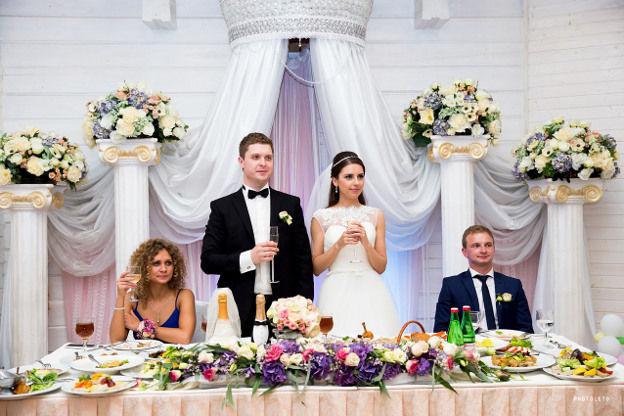 Свадьба в узком семейном кругу