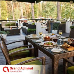 "Grand Admiral Resort & SPA: Тераса ""Кориця"""