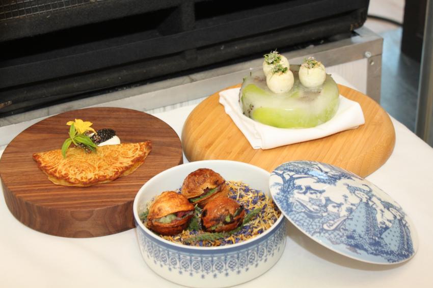 Оригинальные  блюда из локальных продуктов от Dmitri Haljukov